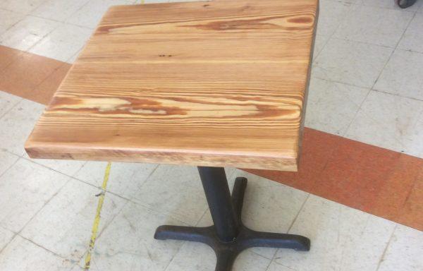 Hand built table