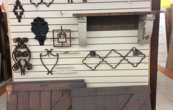 Cast iron ornate pieces
