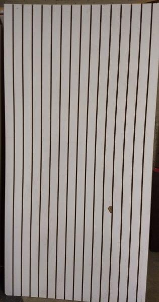 Slat wall vertical