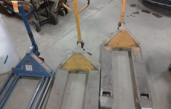Three Pallet Jacks