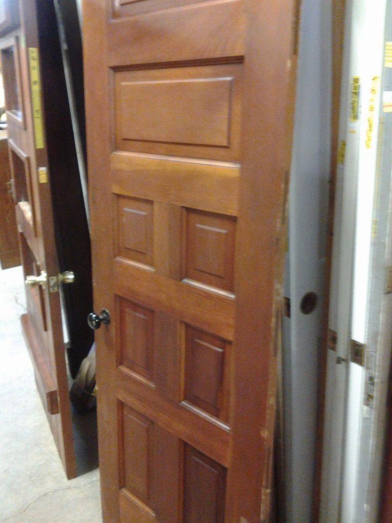 Eight Panel Pine Interior Door Slab