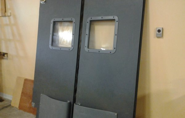 Double Swinging Commercial Doors.  Price Reduced!!