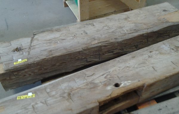 Hand Hewn Barn Beam. Only one Left
