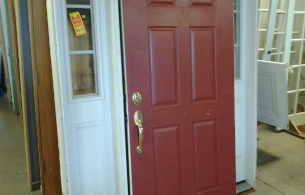 Prehung Door w/ 2 Sidelites.  Price Reduced!!
