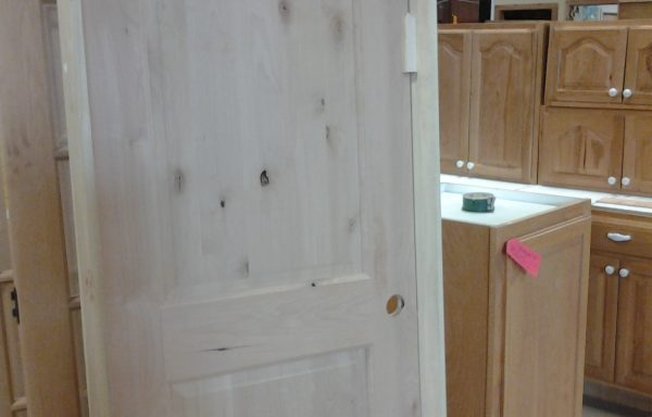 Knotty Alder Prehung Interior Door.
