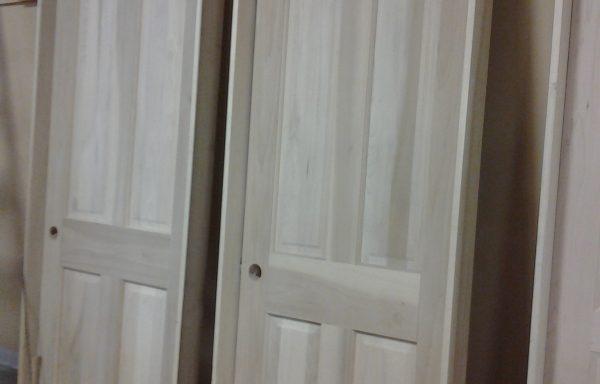 Solid Poplar Prehung Interior Doors.