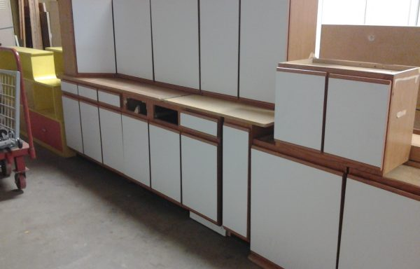12 pc Laminate Cabinet Set