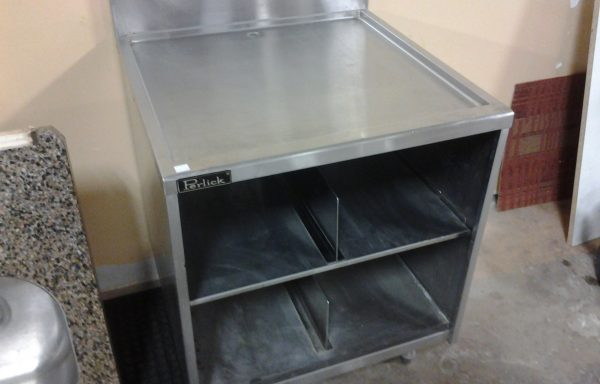 Perlick Brand Stainless Steel Commercial Glassware Cabinet